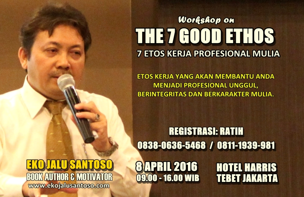 Workshop on The 7 Good Ethos