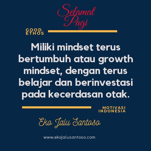 Miliki Growth Mindset